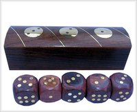 Sheesham Wood Dice Boxes