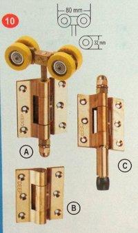 Durable Standard Brass Side Hung Door Folding System
