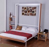 Vertical Double Bed - CUMI Space One - Wall beds