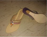 Ladies Leather Kohlapuri Chappal