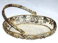 Iron Wire Basket For Chocolate And Candy Packaging