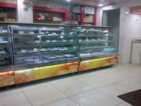 Sweets And Cake Display Counter