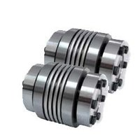 Metal Bellow Coupling With Collet Clamp