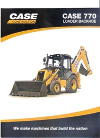 Backhoe Loader Machine