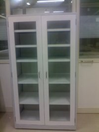 Steel Glass Cupboard