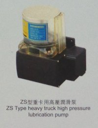 Zs Type Heavy Truck High Pressure Lubrication Pump