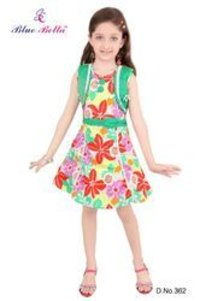 Girl Colorful Frock