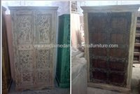 Antique Old Door Almirah
