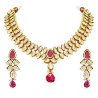Ruby Vilandi Necklace Set