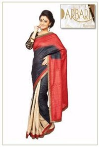 Exclusive Half And Half Designer Saree