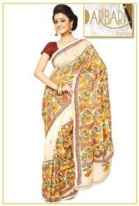 Exclusive Hand Embroidered Kantha Saree (OL-273)