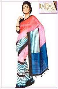 Beautiful Designer Raw Silk Saree (OL-248)