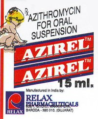 AZIREL Azithromycin 15ml. Syrup