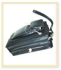 Durable Leather Pouch Bag