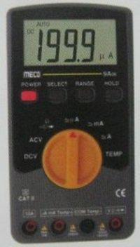 Manual Digital Multimeter with APO