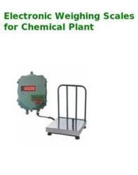 Electronic Weighing Scales For Chemical Plant