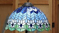 Tiffany Lamp Shades With Stained Glass Work
