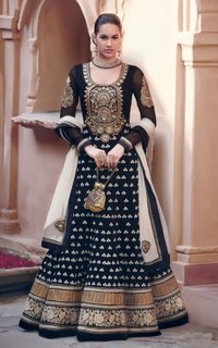 Heavy Embroidery Designer Suit