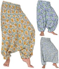 Cotton Hand Block Printed Trousers