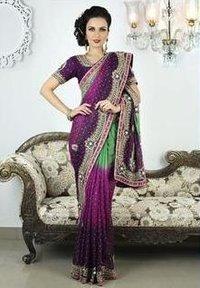 Designer Pallu Saree