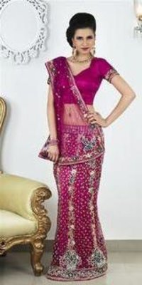 Antique Lehenga Saree
