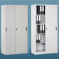 Stainless Steel Filing Cupboard