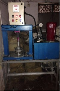 Hydraulic Signle Die Paper Plate Machine