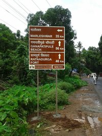 Sign Boards And Road Safety Measures