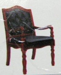 Black Colour Wooden Chair