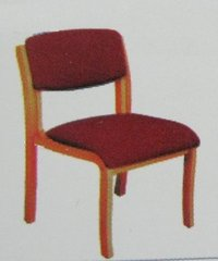Red Colour Wooden Chair