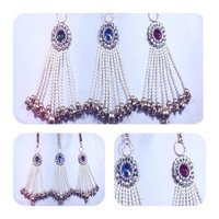 Pearl Beaded Broach Latkan