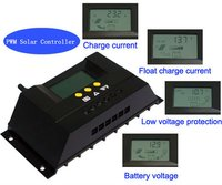 Solar Power Controller For Street Light Control