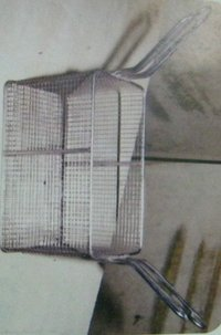 Stainless Steel Fry Basket (210x120mm)