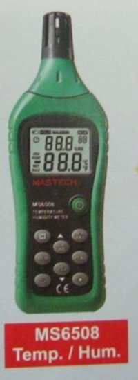 Temperature And Humidity Meters (Ms6508)