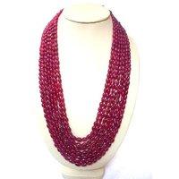 Ruby Mani Necklace