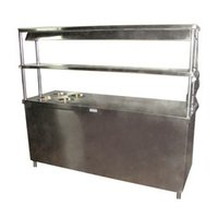 Pick Up Display Counter With Bain Marie