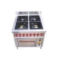 Four Burner Gas Cooking Range