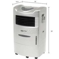 Evaporative Wheel Cooler