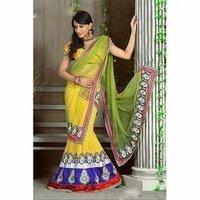 Yellow Designer Sarees