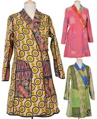 Vintage Kantha Long Jackets