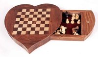 Heart Shape Chess Board