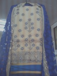 Net Dupatta Suits