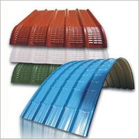 Curved Colored Roofing Sheet