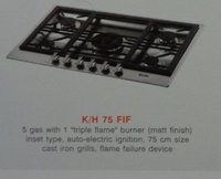Five Burner Kitchen Hobs (K/H 75 Fif)