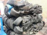 Used Scrap Baled Tyres