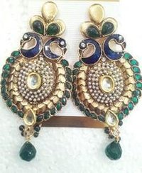 Fancy Peacock Earrings