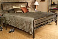 Modern Stainless Steel Bed