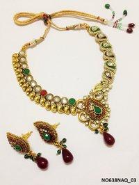 Polki Necklace Sets