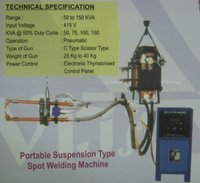 Portable Suspension Type Spot Welding Machine