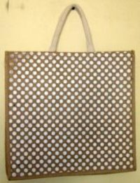 Jute Printed Shopping Bags